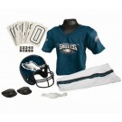 Franklin Philadelphia Eagles DELUXE Youth Helmet and Football Uniform Set (Medium)