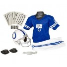 Franklin Indianapolis Colts DELUXE Youth Helmet and Football Uniform Set (Medium)