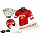 Franklin Kansas City Chiefs DELUXE Youth Helmet and Football Uniform Set (Medium)