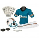 Franklin Miami Dolphins DELUXE Youth Helmet and Football Uniform Set (Medium)