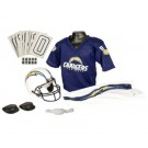 Franklin San Diego Chargers DELUXE Youth Helmet and Football Uniform Set (Medium)
