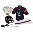 Franklin Houston Texans DELUXE Youth Helmet and Football Uniform Set (Medium)