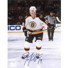 "Joe Thornton Autographed Boston Bruins 8"" x 10"" Photograph (Unframed)"