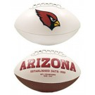 Arizona Cardinals Limited Edition Embroidered Signature Series Football from Fotoball