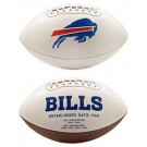 Buffalo Bills Limited Edition Embroidered Signature Series Football from Fotoball