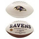 Baltimore Ravens Limited Edition Embroidered Signature Series Football from Fotoball