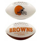 Cleveland Browns Limited Edition Embroidered Signature Series Football from Fotoball