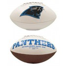 Carolina Panthers Limited Edition Embroidered Signature Series Football from Fotoball