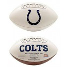 Indianapolis Colts Limited Edition Embroidered Signature Series Football from Fotoball