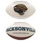 Jacksonville Jaguars Limited Edition Embroidered Signature Series Football from Fotoball