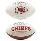 Kansas City Chiefs Limited Edition Embroidered Signature Series Football from Fotoball