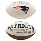 New England Patriots Limited Edition Embroidered Signature Series Football from Fotoball