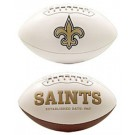 New Orleans Saints Limited Edition Embroidered Signature Series Football from Fotoball