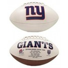 New York Giants Limited Edition Embroidered Signature Series Football from Fotoball