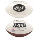 New York Jets Limited Edition Embroidered Signature Series Football from Fotoball