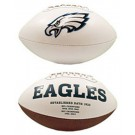 Philadelphia Eagles Limited Edition Embroidered Signature Series Football from Fotoball