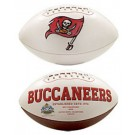 Tampa Bay Buccaneers Limited Edition Embroidered Signature Series Football from Fotoball