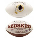 Washington Redskins Limited Edition Embroidered Signature Series Football from Fotoball