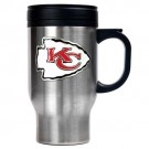 Kansas City Chiefs 16 oz. Stainless Steel Travel Mug