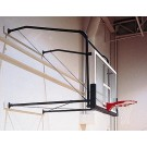 Four-Point Stationary Wall Mount with Adjustable 4' - 6' Extension from Gared (For Rectangular Backboards)