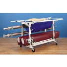 Volleyball Equipment Storage Cart from Gared