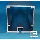 """4"""" Square Sleeves for the Gared SideOut Outdoor Volleyball Standards (One Pair) by"""