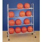 4 Tier Basketball Ball Rack (16 Ball Capacity)