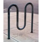 "3' 3"" Loop-Style Bike Rack (Holds 5 Bikes)"