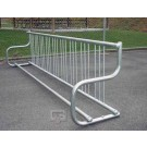 10' Traditional Single-Sided Bike Rack (Holds 9 Bikes)