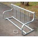 5' Traditional Single-Sided Bike Rack (Holds 4 Bikes)