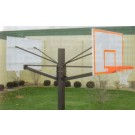 """Endurance Dual Playground Basketball System with 42"""" x 60"""" Glass Backboards and... by"""