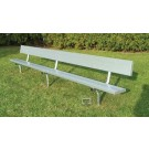 15' Permanent Players Bench
