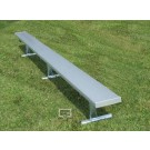 15' Portable Aluminum Bench