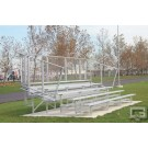 21' Fixed / Stationary Bleachers (5 Row)