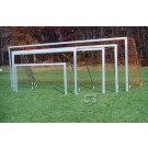 7' x 21' All-Star Recreational Portable Soccer Goals - 1 Pair
