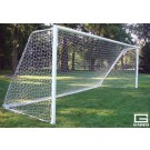 8' x 24', Semi-Permanent All-Star II Pro Touchline Soccer Goal (One Pair) by