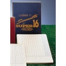 Peterson's Baseball Super Scoremaster 16 Scorebook from Gared - Set of 12 Scorebooks