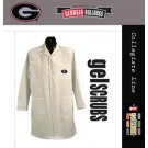 Georgia Bulldogs Long Lab Coat from GelScrubs (with the G Logo)