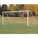 "6'6"" x 12' Portable Aluminum Club / Youth Soccer Goals - 1 Pair"