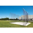 """8"""" x 76' 8"""" Barrier Net for the NCAA Aluminum Discus Cage"""