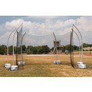 High School Free Standing Portable Discus Cage
