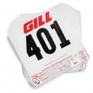 #001 - 100 Gill Tear Tag Competitors Numbers