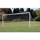 Elite III Stationary Aluminum Soccer Goals - 1 Pair