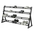 Long 4-Tier Dumbbell Rack