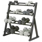 Short 4-Tier Dumbbell Rack