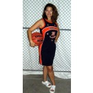 Brooklyn Ladies' Streetball All Stars Jersey Dress (Navy X-Large)