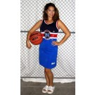 Philadelphia Ladies' Streetball All Stars Jersey Dress (Royal Blue Medium)