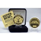 24KT Gold Super Bowl I Flip Coin from The Highland Mint