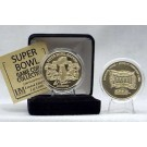 24KT Gold Super Bowl XXXVIII Flip Coin from The Highland Mint