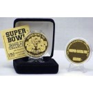 24KT Gold Super Bowl VII Flip Coin from The Highland Mint